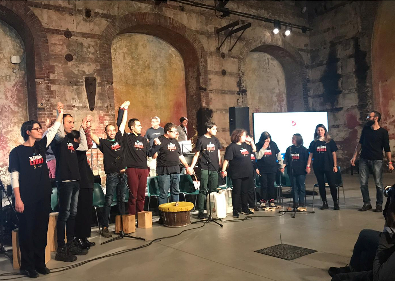 La Banda Larga Live Alle OGR Torino