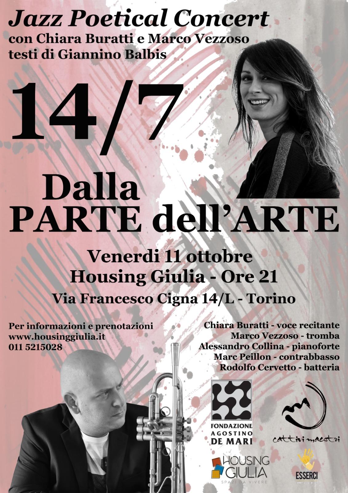 14/7 Dalla PARTE Dell'ARTE
