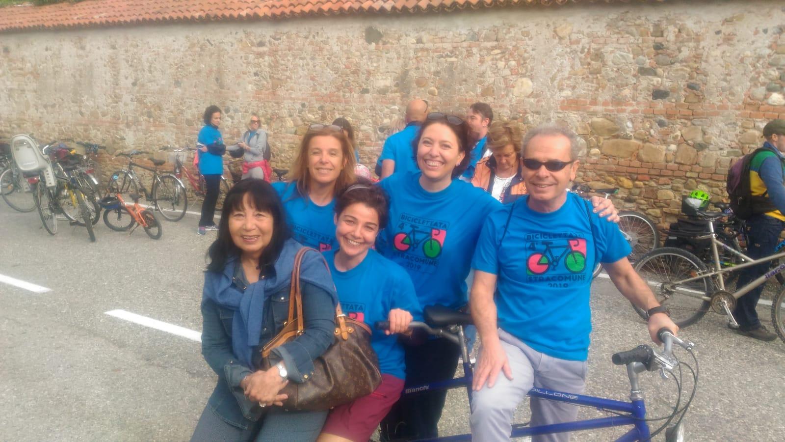 500 Partecipanti Alla 4^ Biciclettata Stracomune