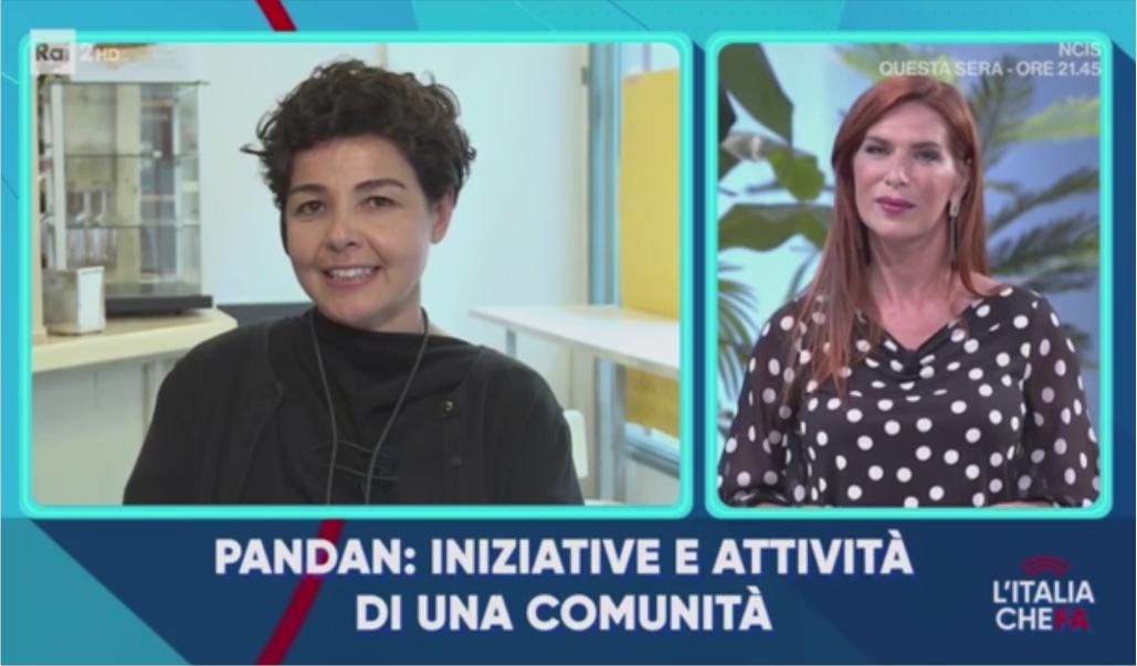 Il Progetto Pandan Raccontato A L'Italia Che Fa (RAI 2)
