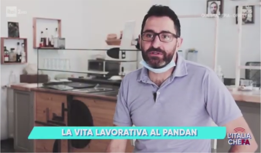 La Vita Lavorativa A Pandan Raccontata A L'Italia Che Fa (RAI 2)